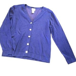Chico's Size 1 Button up cardigan
